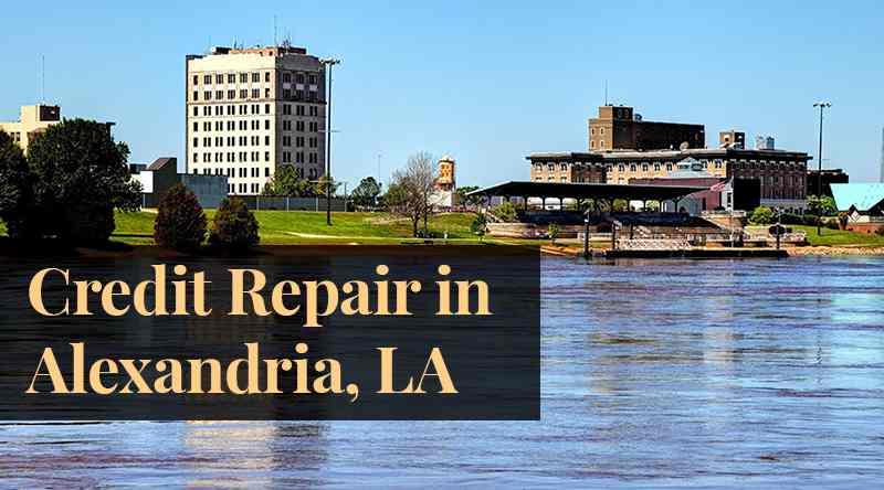 credit repair Alexandria LA