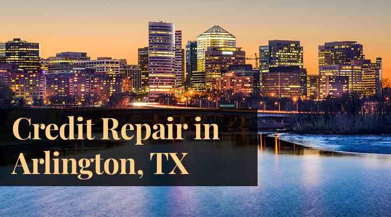 credit repair Arlington, TX