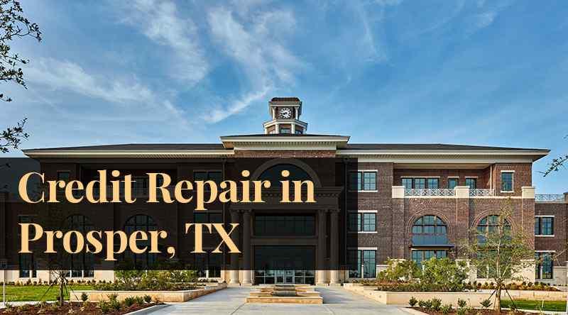 credit repair prosper TX
